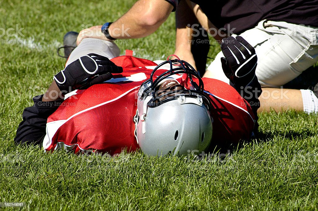Pain in a game stock photo