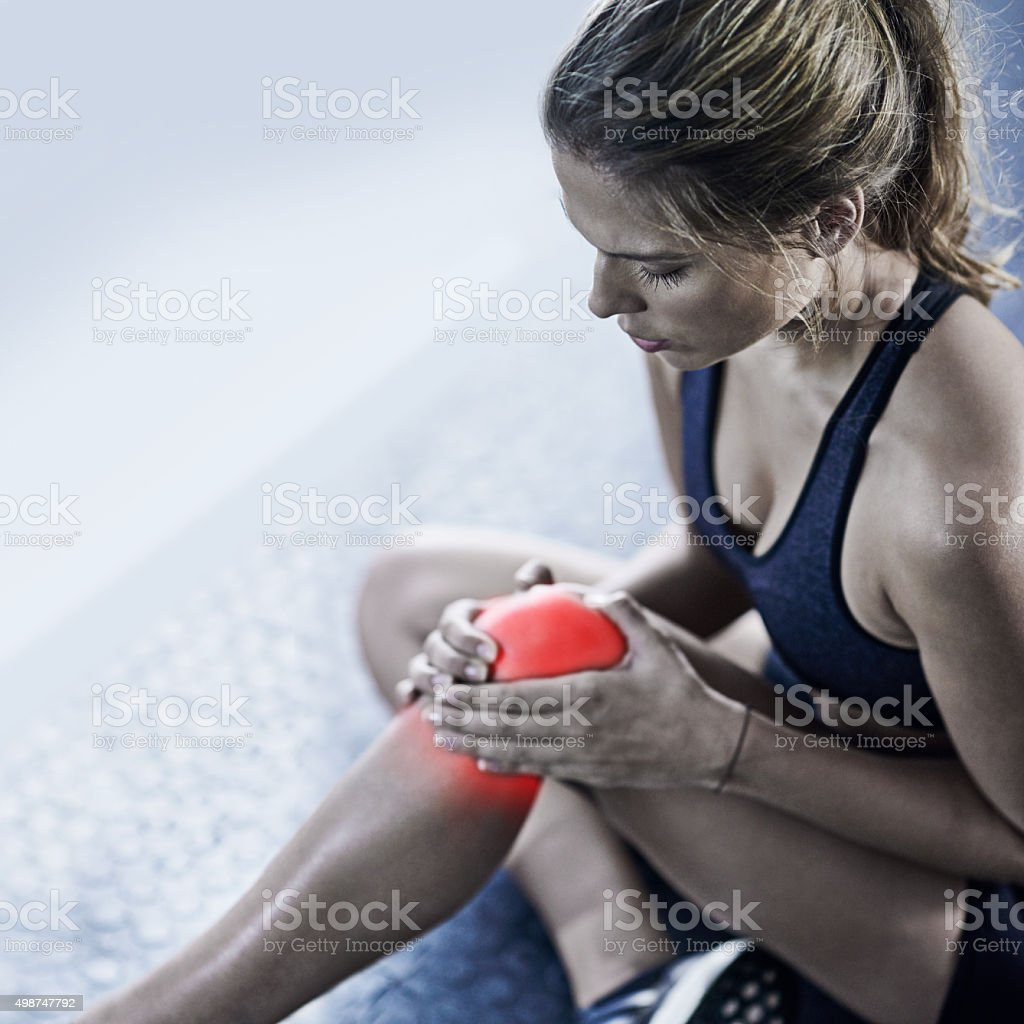 Pain is temporary, quitting lasts forever stock photo
