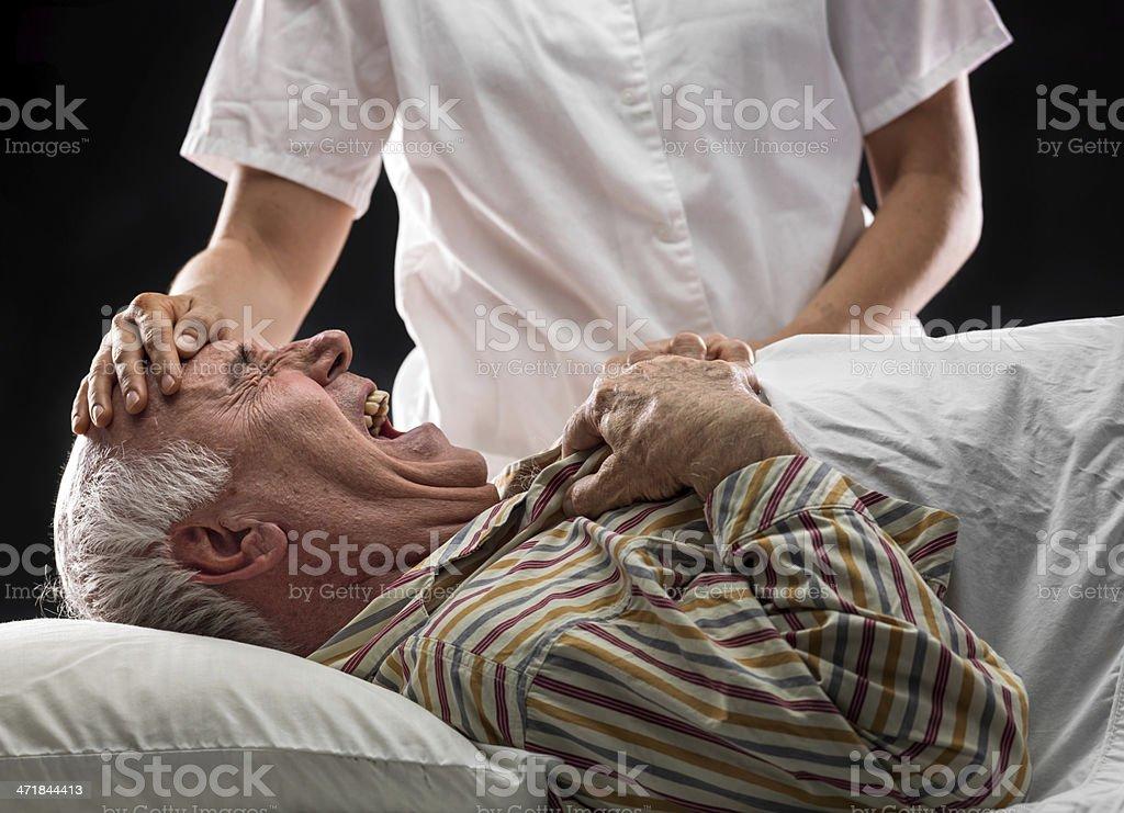 Pain stock photo