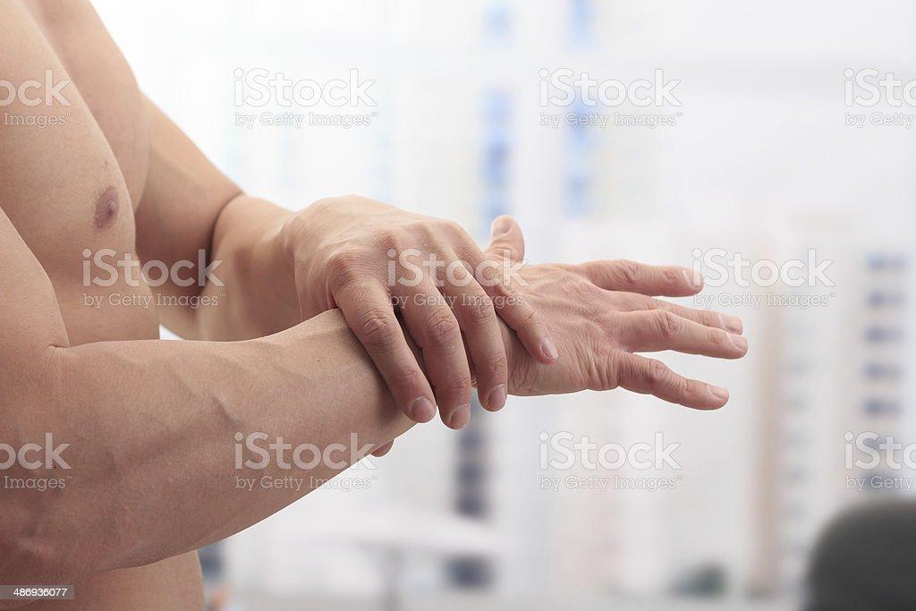 Pain royalty-free stock photo