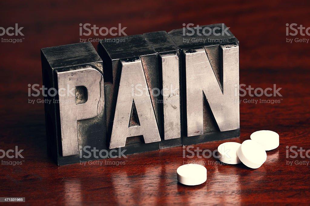 Pain Pills stock photo