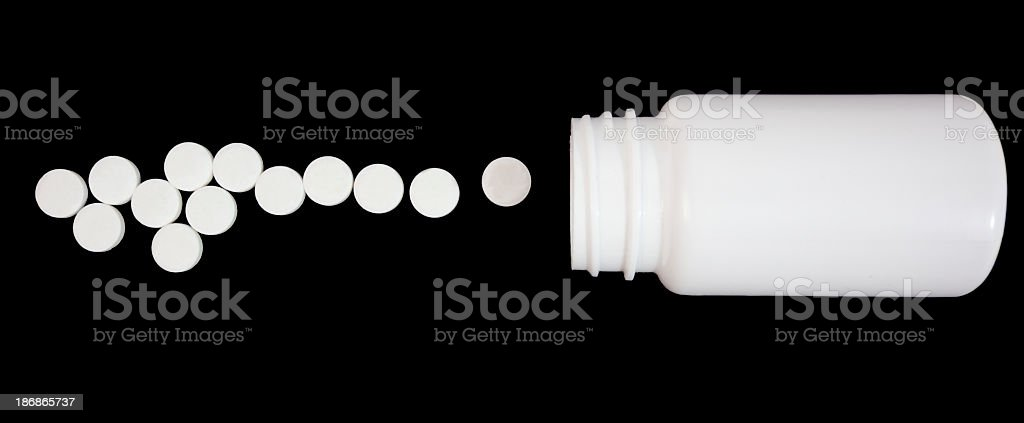 Pain Relief royalty-free stock photo