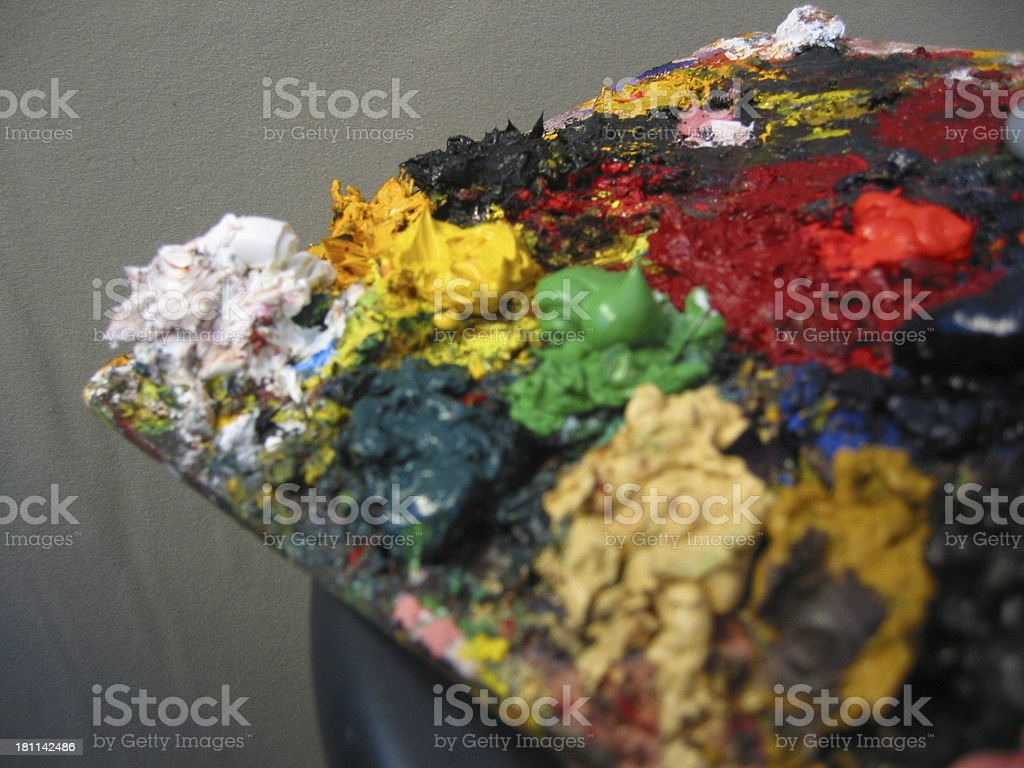 Paint - B royalty-free stock photo