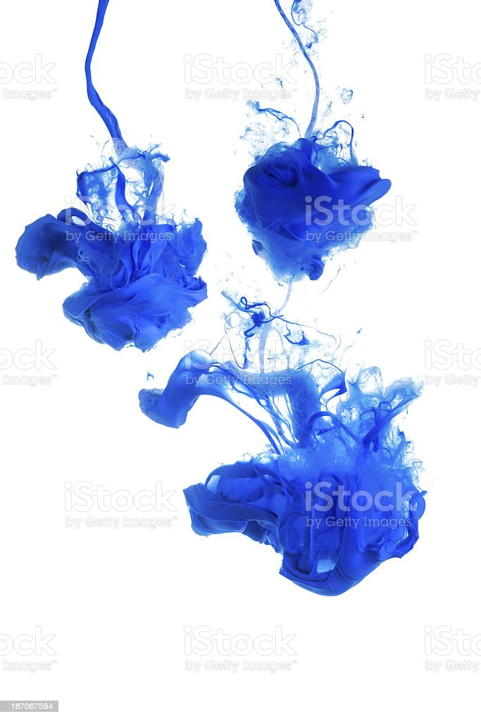 paint blobs royalty-free stock photo