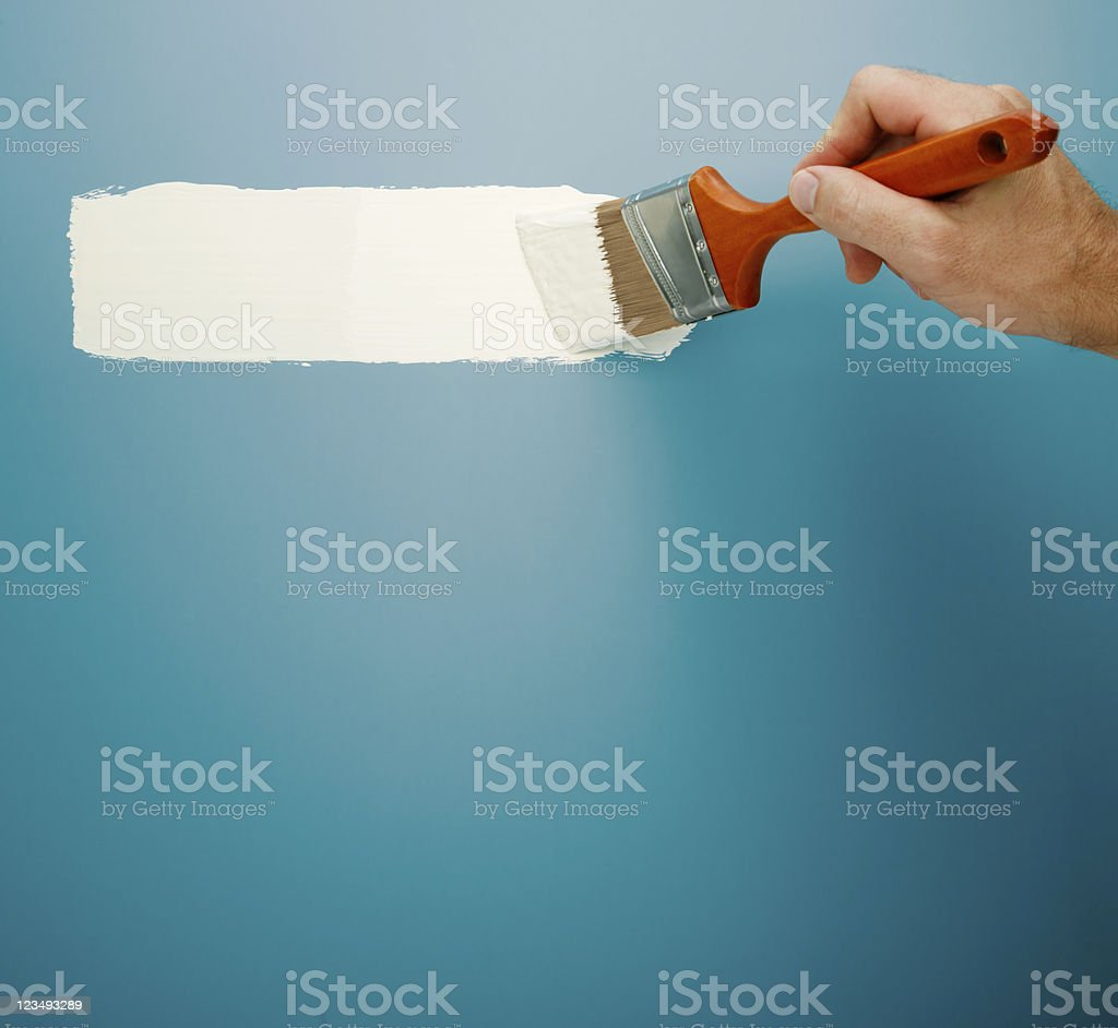 paint brush line XXL stock photo