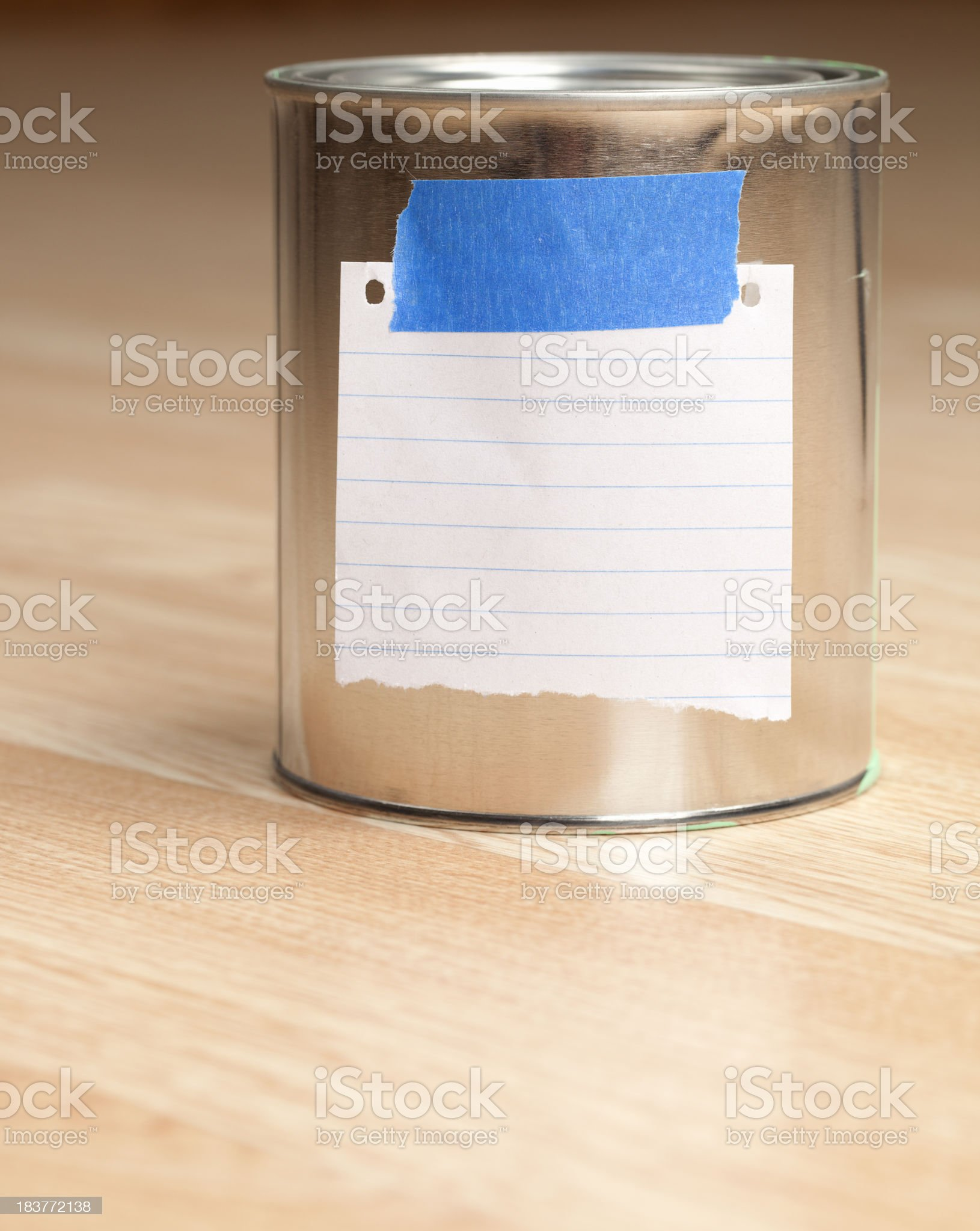 Paint Can royalty-free stock photo
