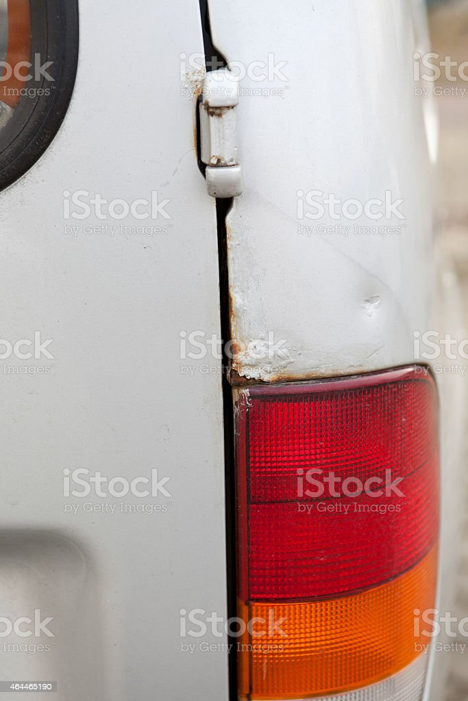 paint corrosion rusty car stock photo