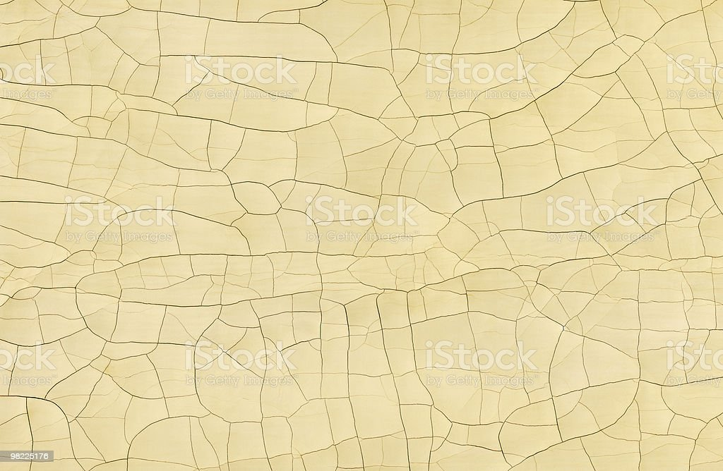Paint Crackle XXL royalty-free stock photo