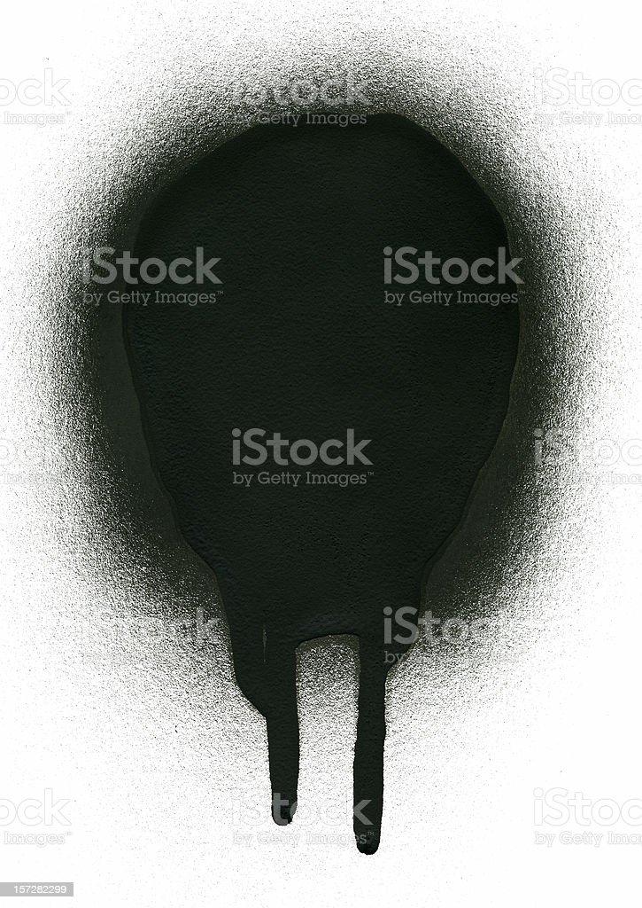 Paint Drip stock photo