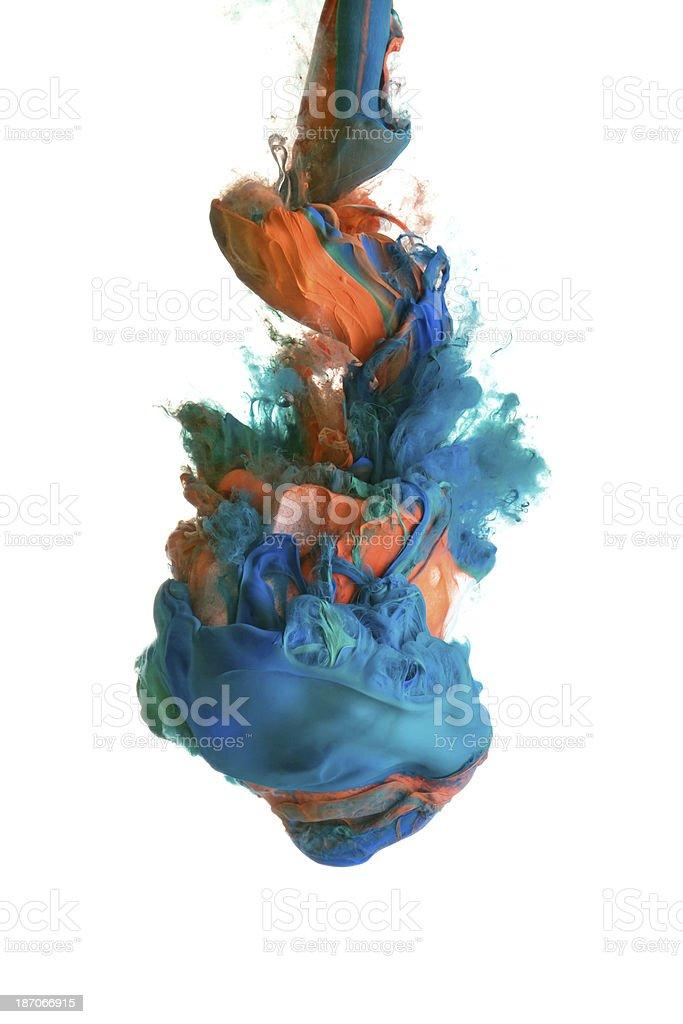 paint drop royalty-free stock photo