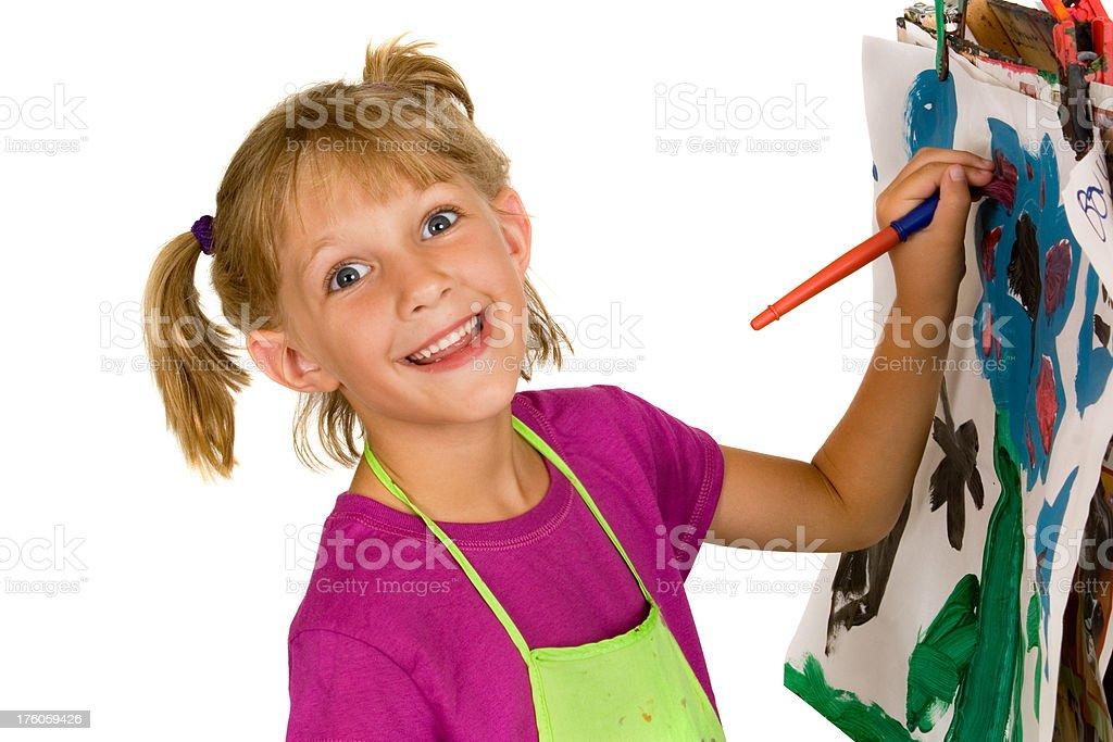 Paint fun (series) royalty-free stock photo