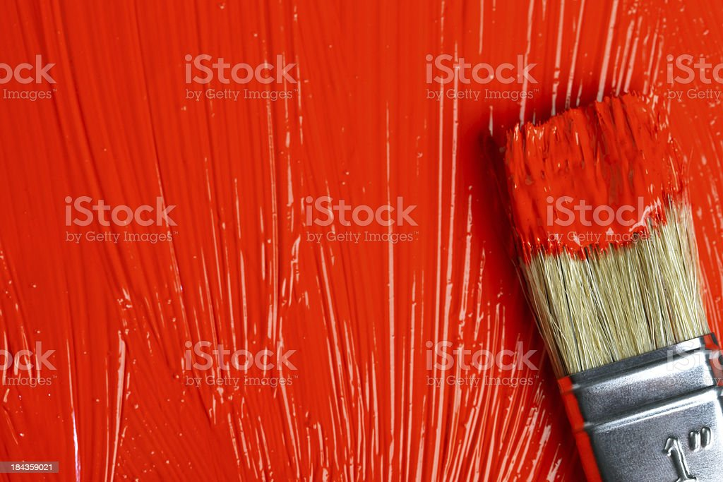 Paint it red royalty-free stock photo