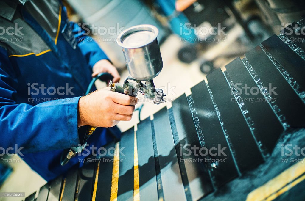 Paint job. stock photo