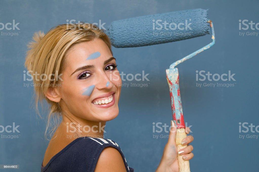 Paint job stock photo