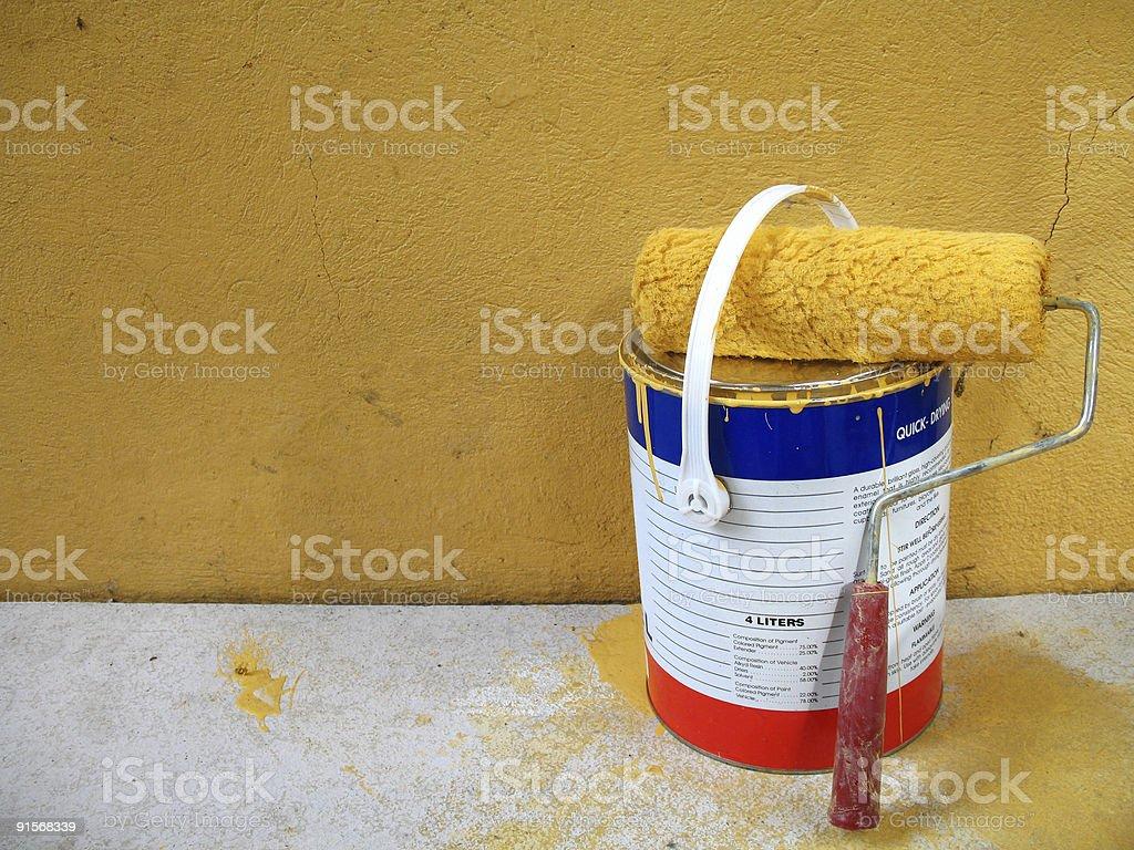 paint job1 royalty-free stock photo