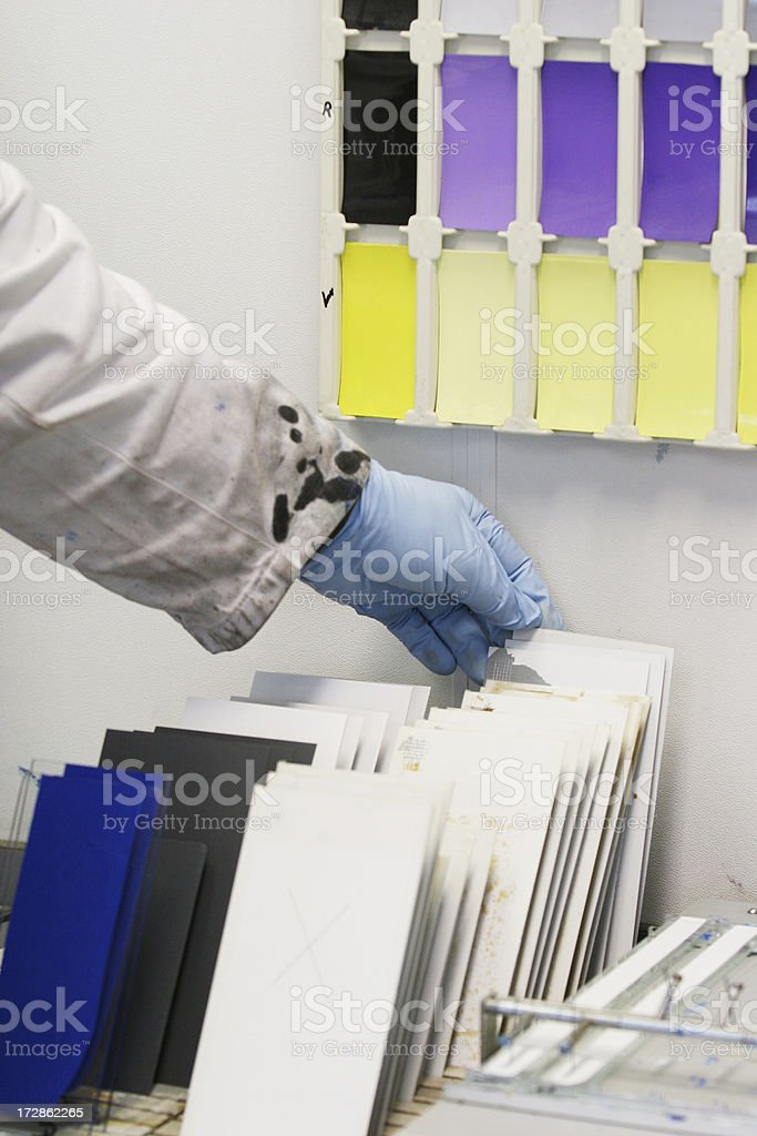 Paint lab royalty-free stock photo