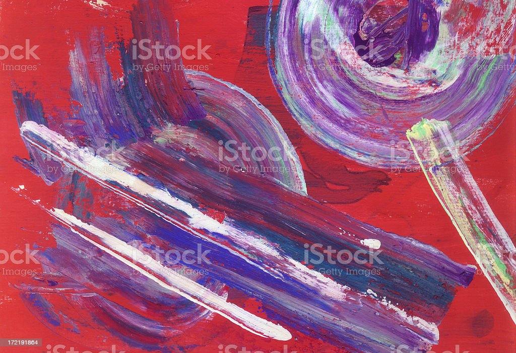 Paint: Mix colours II royalty-free stock photo