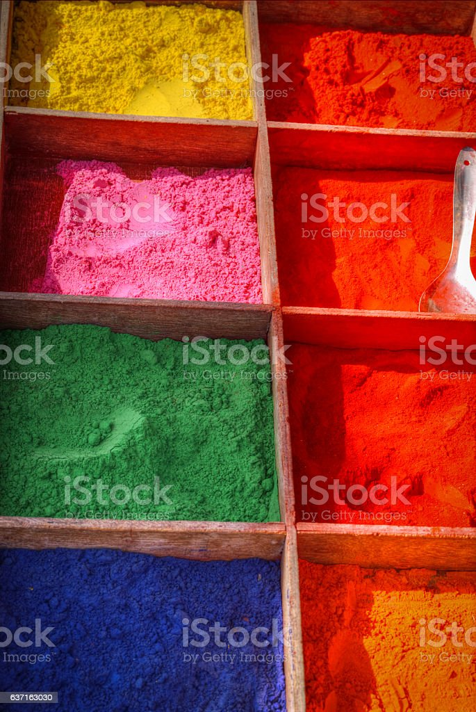 Paint pigment stock photo