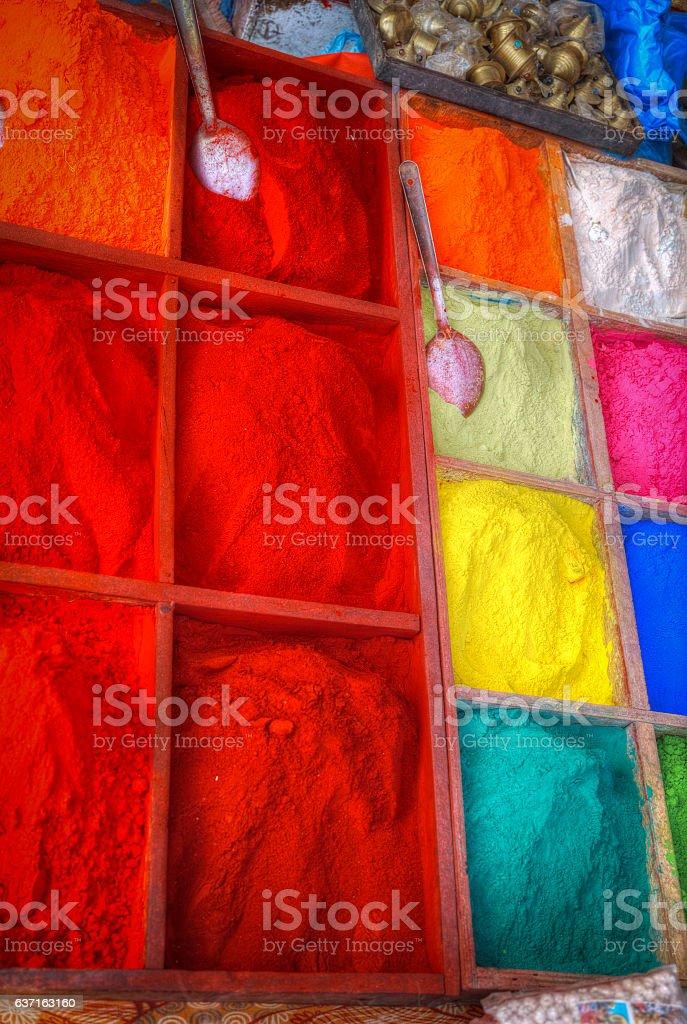 Paint pigment stock photo