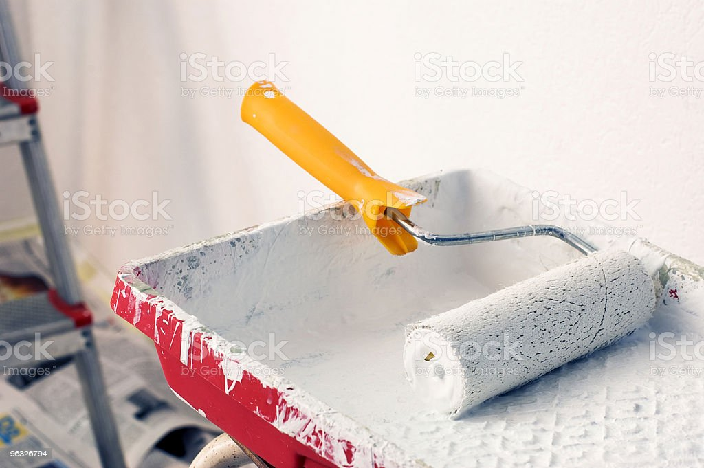 Paint Roller No.3 stock photo