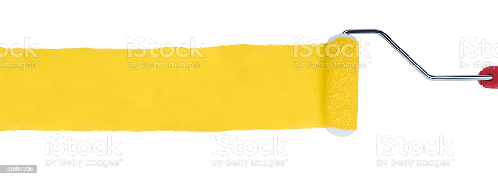 XXL Paint Roller stock photo
