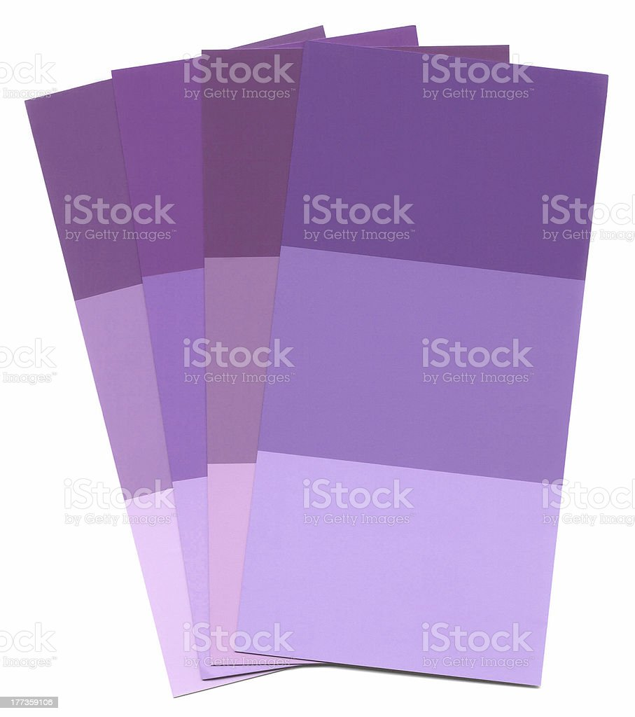 Paint Samples royalty-free stock photo
