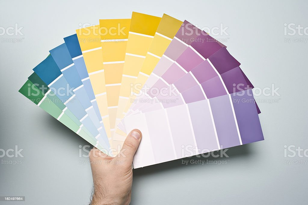 Paint Samples stock photo
