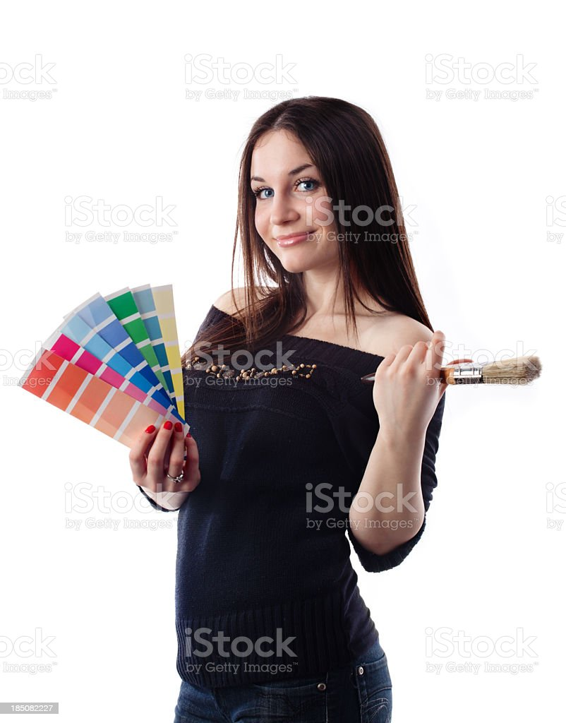 Paint series royalty-free stock photo