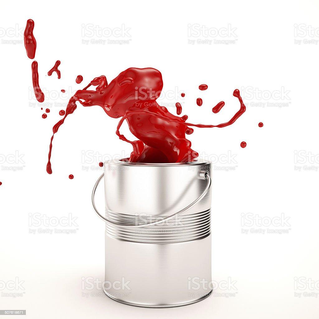 Paint Splash stock photo