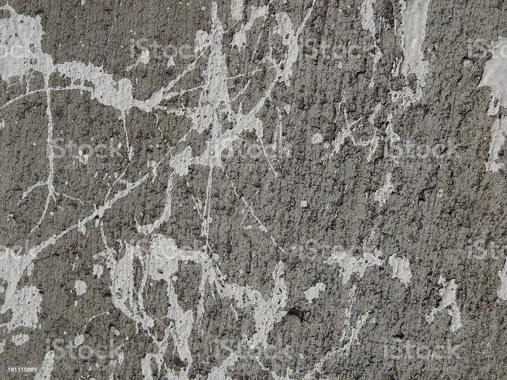 Paint Splatter Rock Wall Background Texture royalty-free stock photo