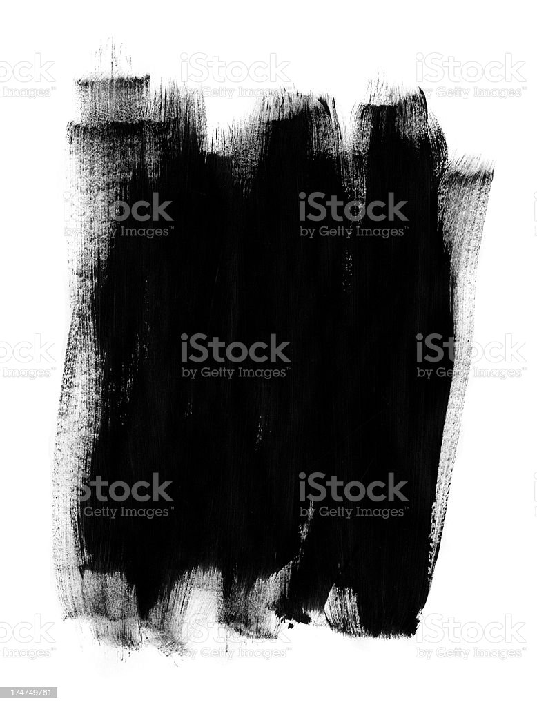 Paint Strokes stock photo