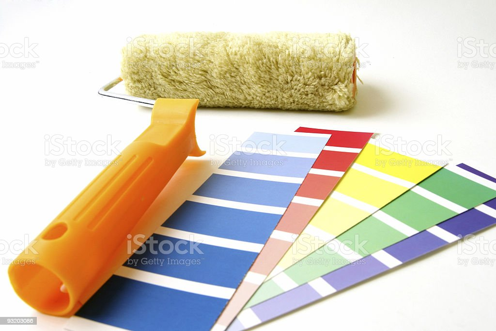 Paint tool royalty-free stock photo