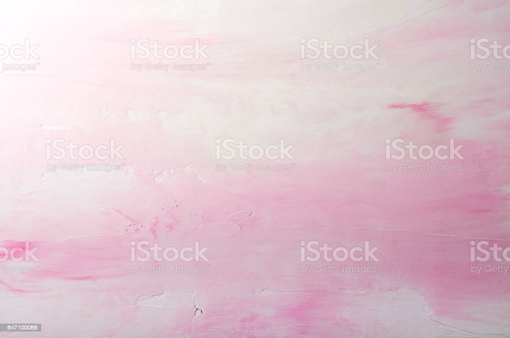 Paint Wall, Grunge Background, pink pastel color. Textured backdrop stock photo