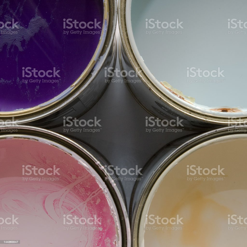 Paint work stock photo