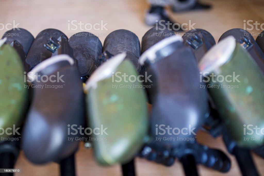 Paintball guns royalty-free stock photo