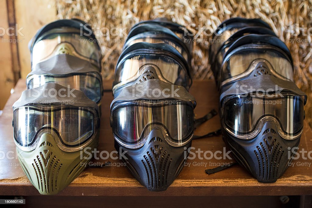 Paintball Mask royalty-free stock photo