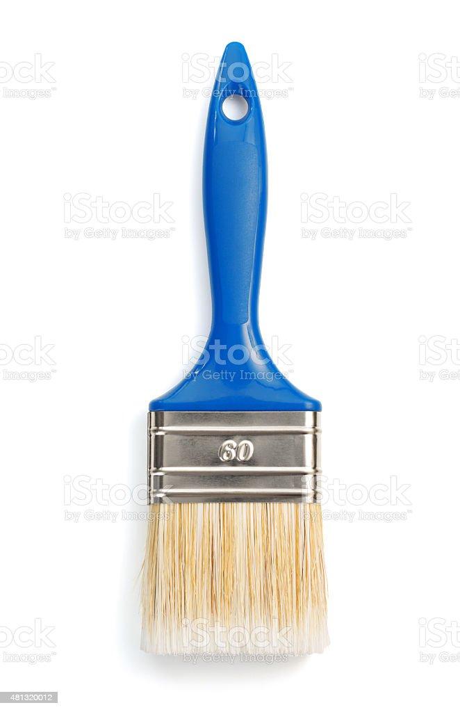 paintbrush isolated on white stock photo