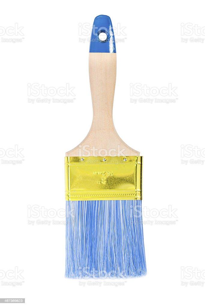 paintbrush isolated stock photo