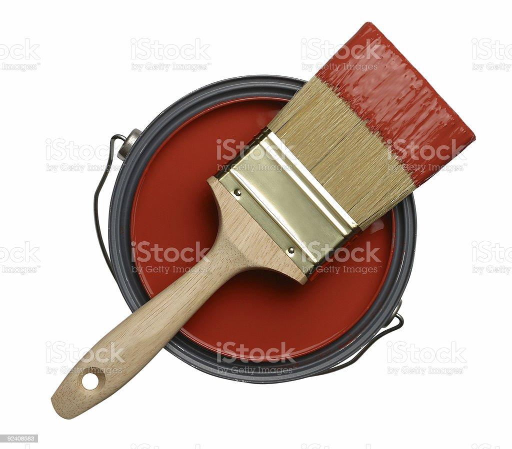 Paintbrush Paint royalty-free stock photo