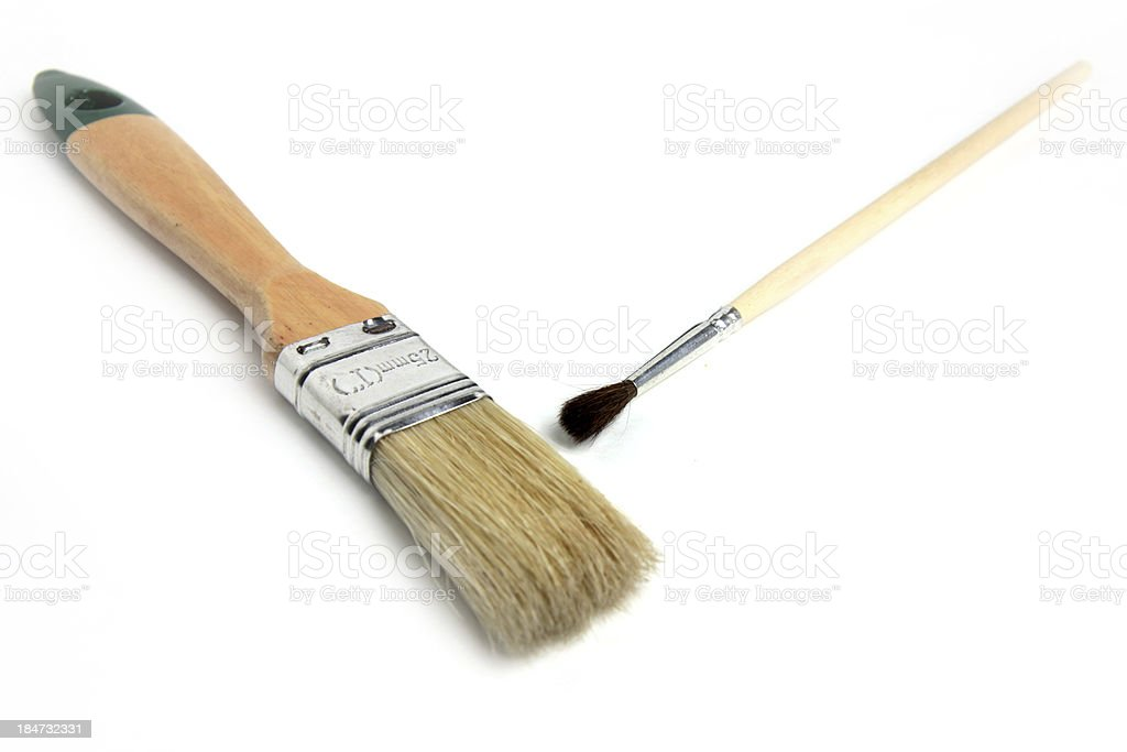 paintbrush royalty-free stock photo