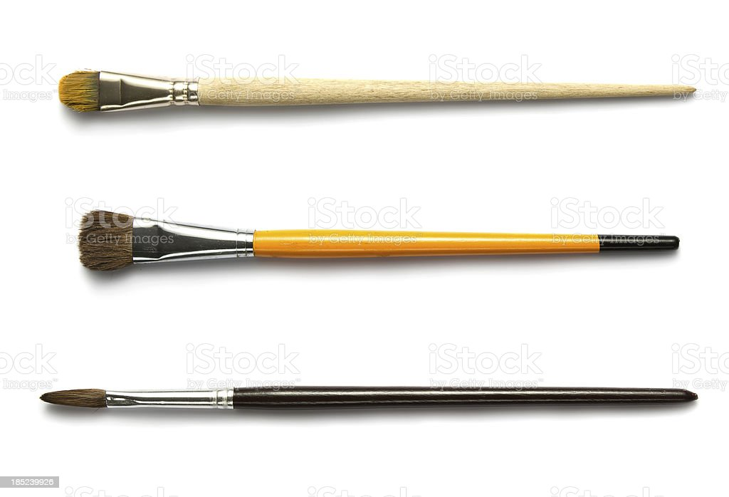 Paintbrushes royalty-free stock photo