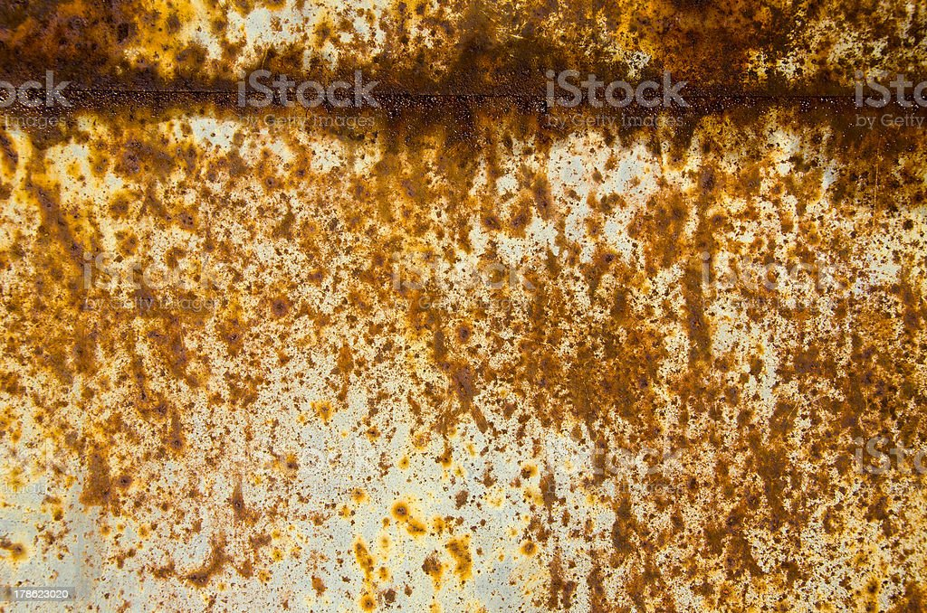 painted and rusted metal background royalty-free stock photo