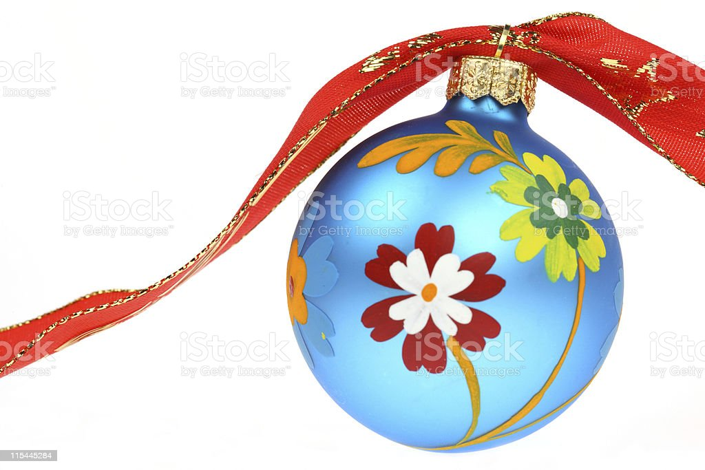 Painted Bauble (XXL) royalty-free stock photo