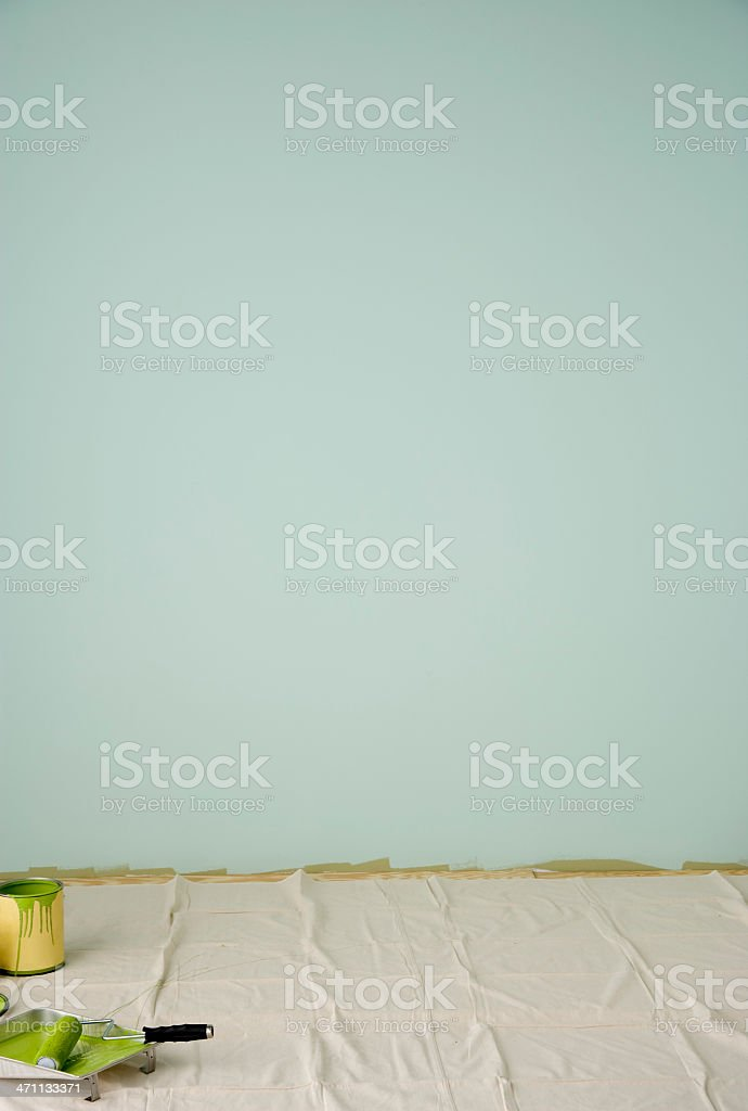 Painted Blank wall royalty-free stock photo
