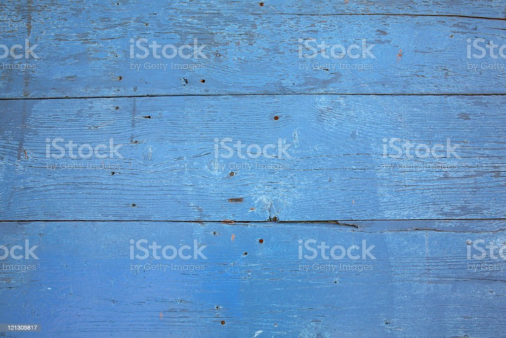painted blue wood royalty-free stock photo