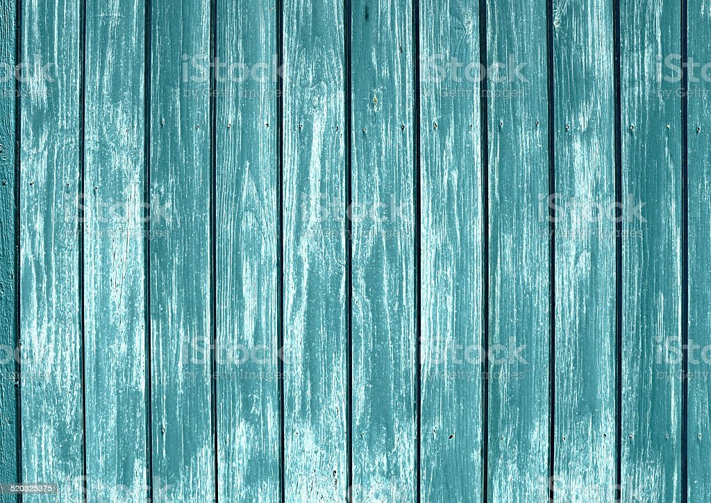 Painted blue wood stock photo