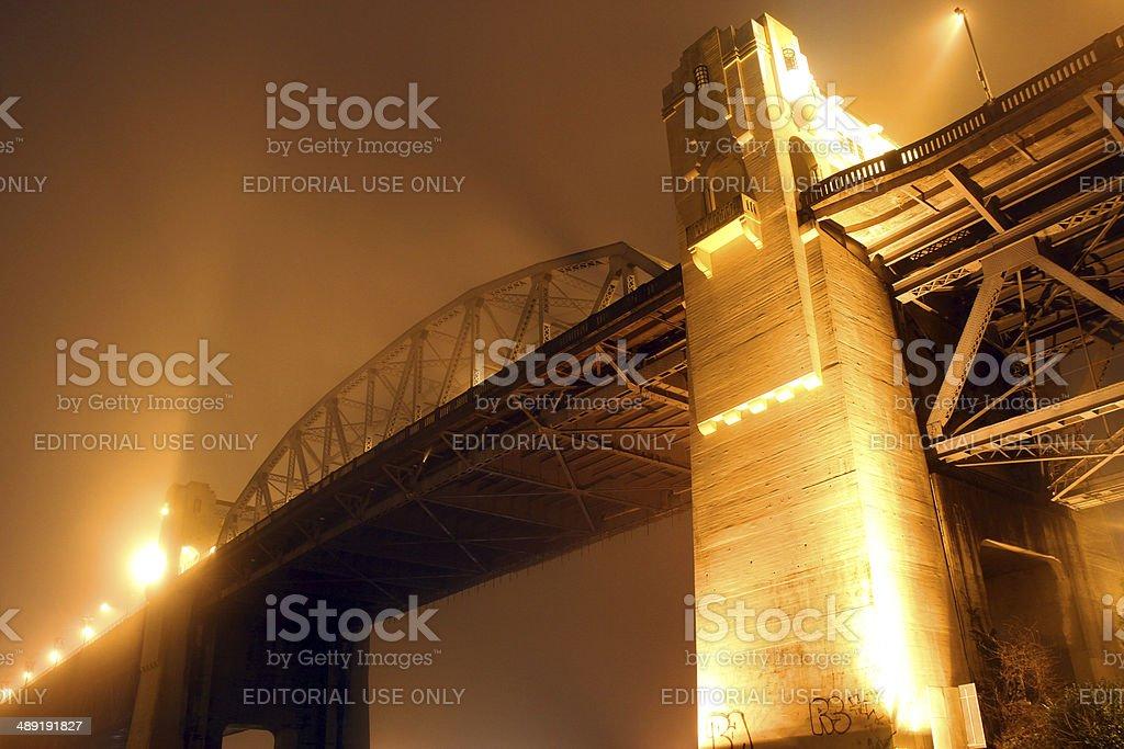 Painted Bridge stock photo