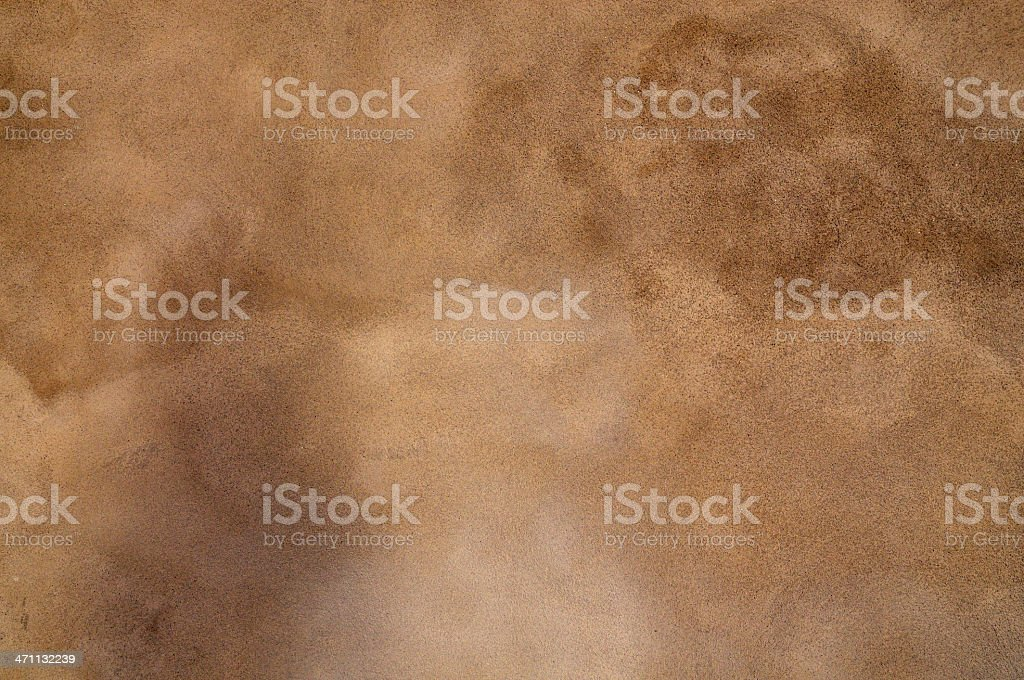 Painted Brown Tuscan Grunge Wall Texture Background Pattern royalty-free stock photo
