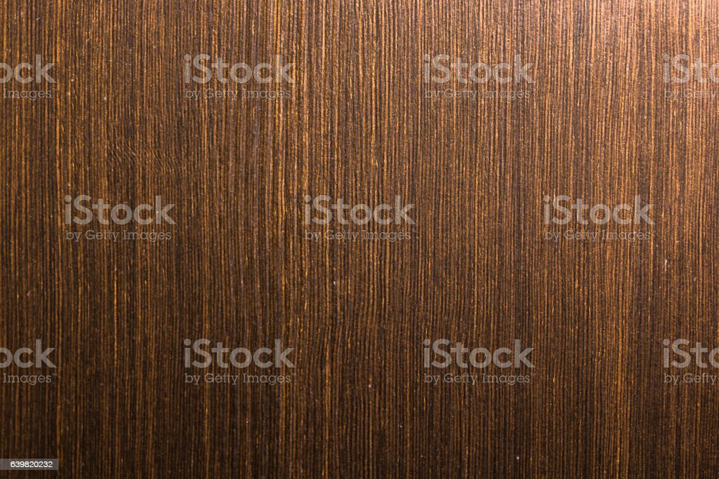 Painted brown wooden surface stock photo