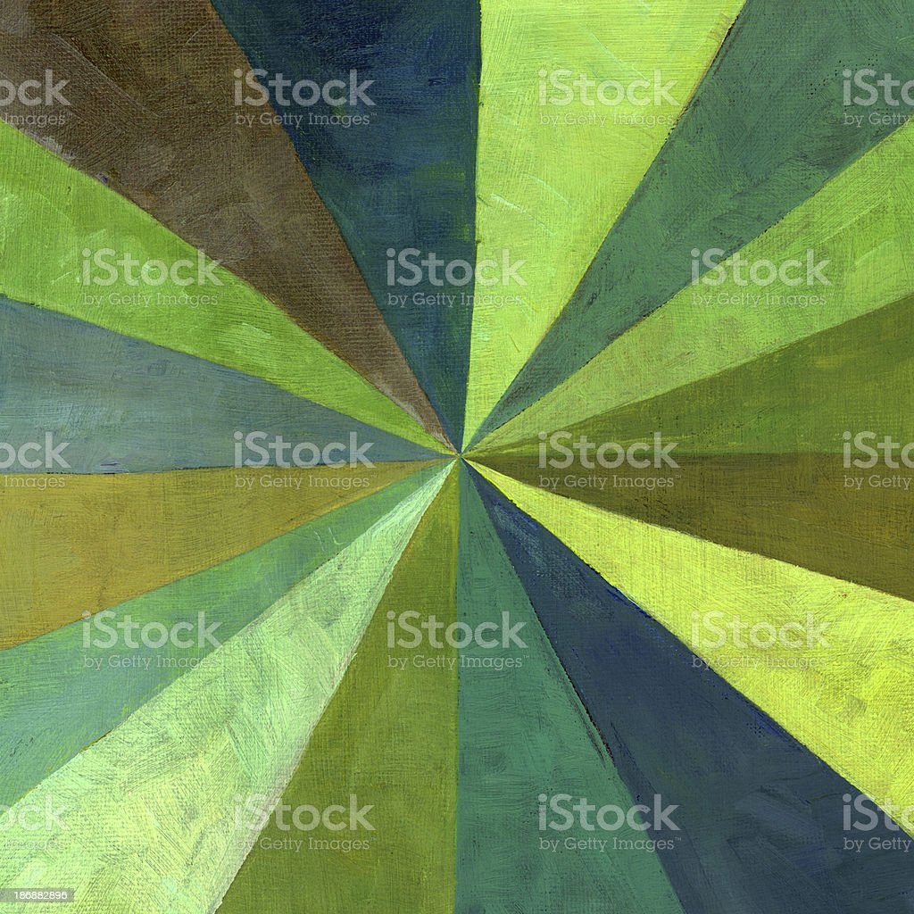 Painted Centric Pattern royalty-free stock photo
